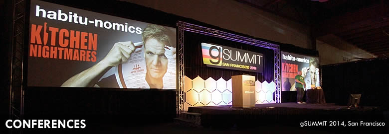 Conferences : gSummit 2014 - Concourse Exhibition Center, San Francisco