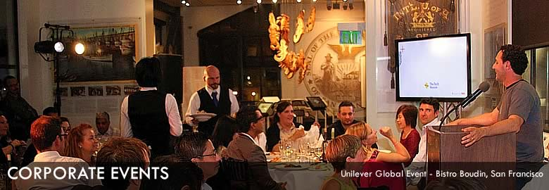 Corporate : Unilever Event - Bistro Boudin, San Francisco