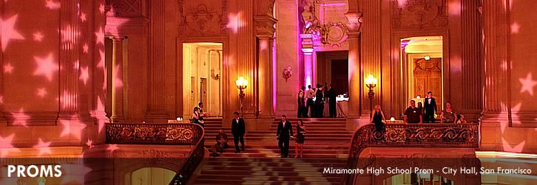 Proms : Miramonte High School Prom - City Hall, San Francisco
